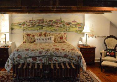 bedroom at richard johnstonn inn