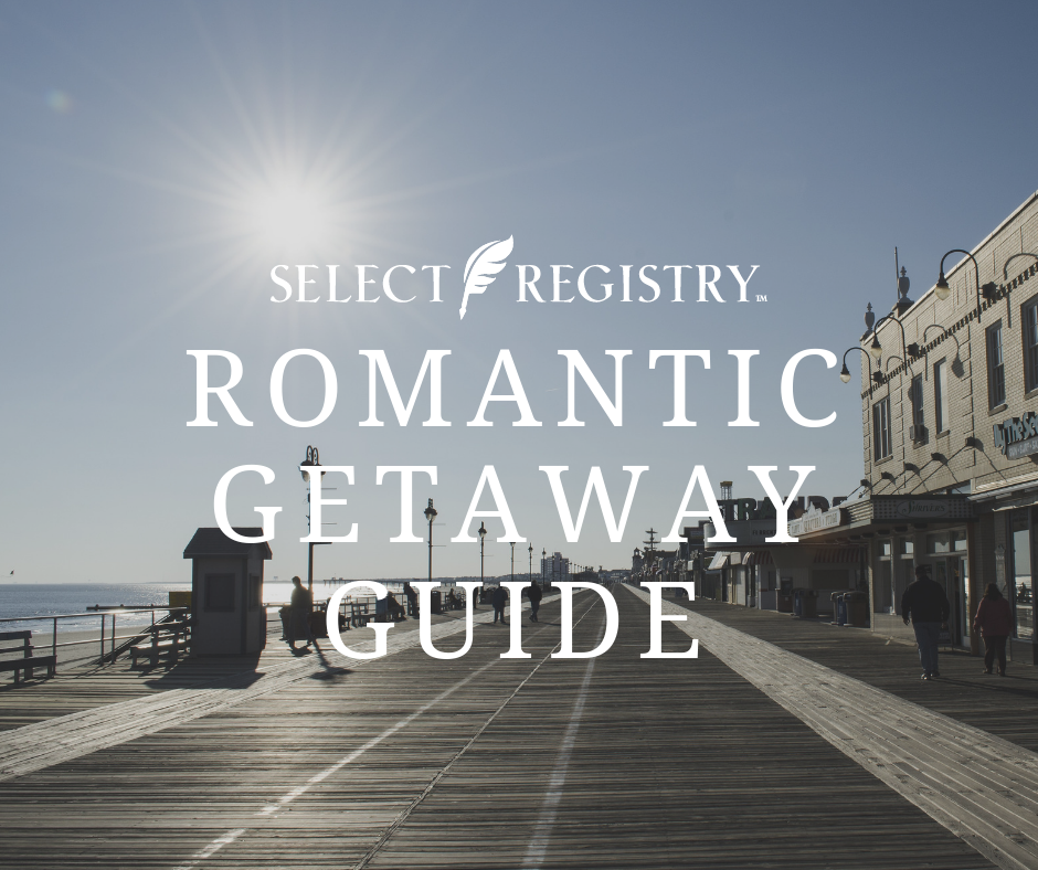 romance things to do in nj boardwalk jersey shore, text reads access our romantic getaway guide