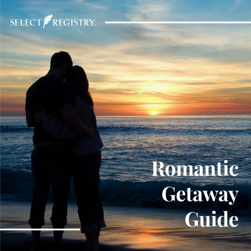 romantic getaway guide couple on the beach