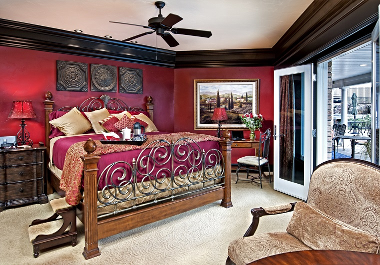 1-SpanishSte_bed_and_french_doors