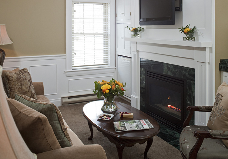 The Sitting Area in the Sebago Suite