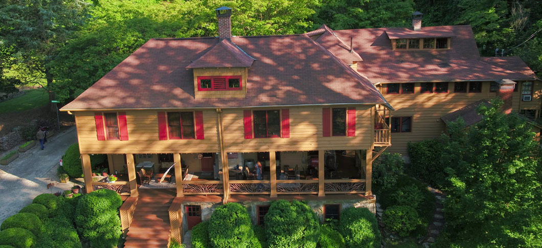 Beechwood Inn from Drone
