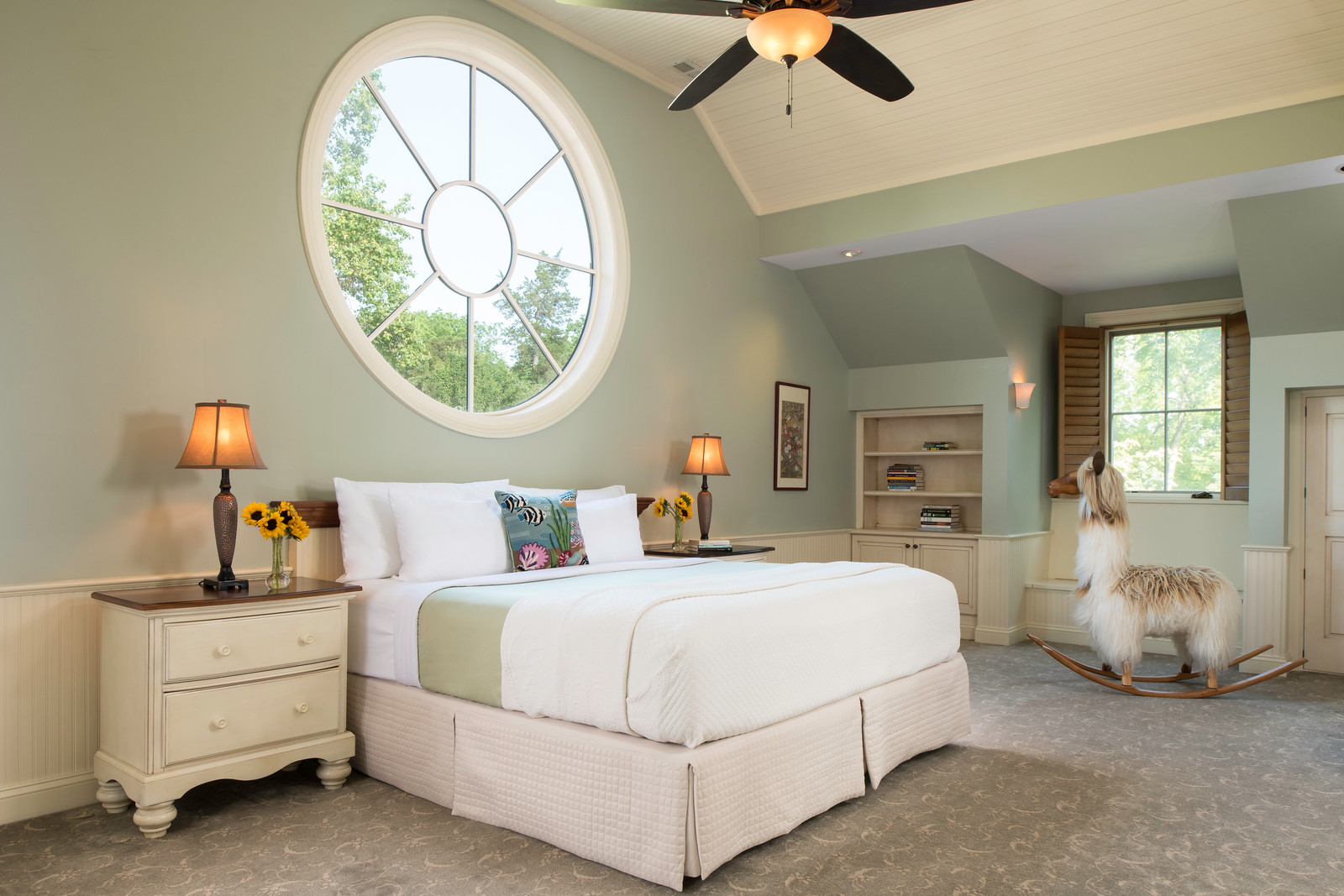 Carriage House Master Bedroom