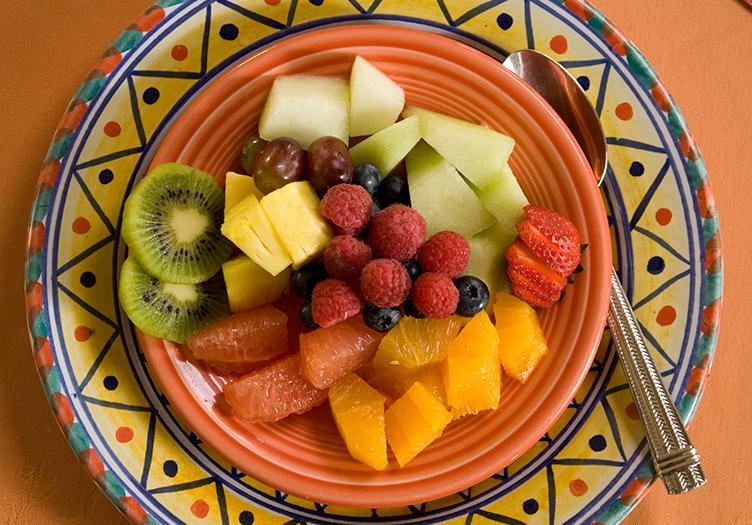 El_Farolito Fruit Plate