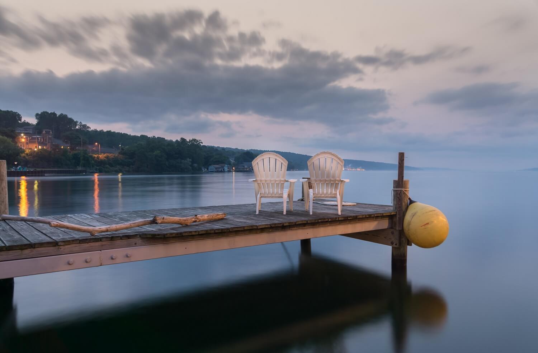Lake Seneca in Finger Lakes NY