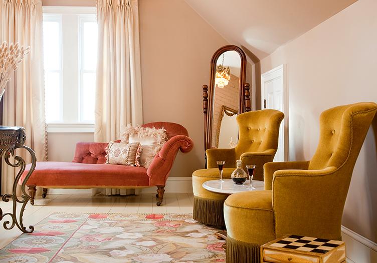 Mount Merino Manor Interior sitting area
