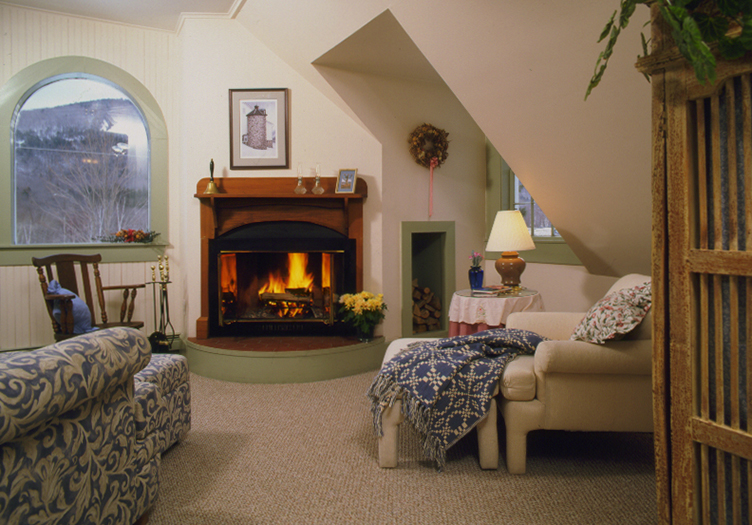 Notchland Inn Room with Fireplace