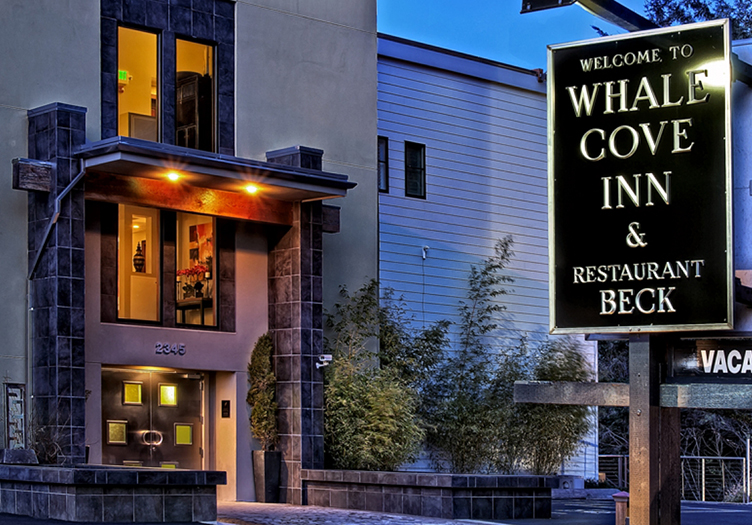 Whale Cove Inn Front