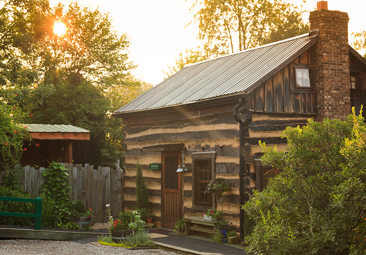 The Inn and Spa at Cedar Falls cabin
