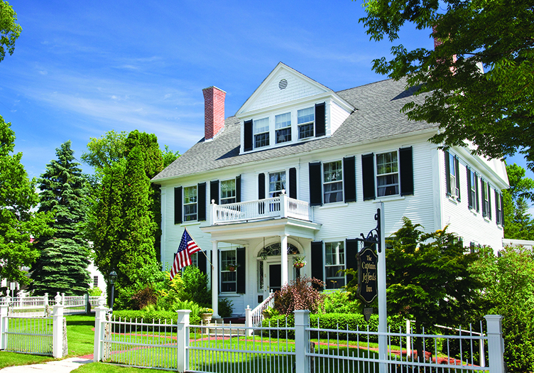 Captain Jefferds Inn, a part of Kennebunkport Captains Collection