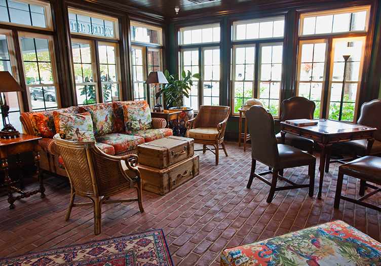 the ballard inn and gathering table living room