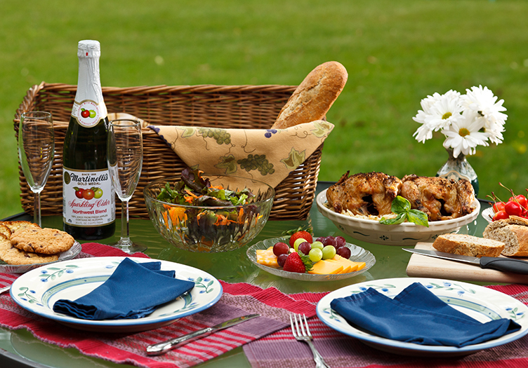 A Packed Picnic Basket