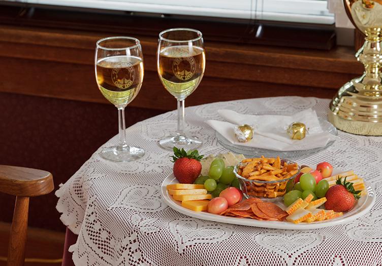 Wine and Cheese at White Oak Inn