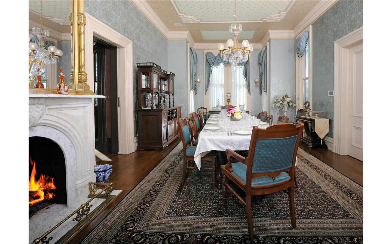 Silas Robbins Dining room