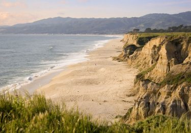 Half Moon Bay from cliffs