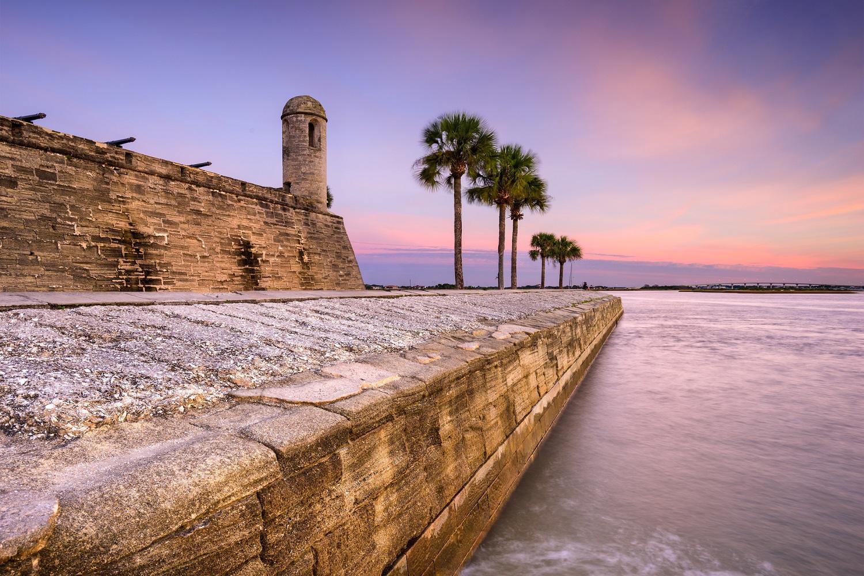 staugustine castillo de san marcos national monument.getty