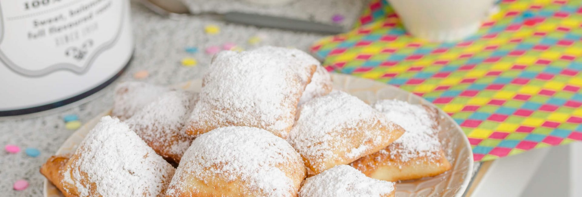 traditional new orleans beignets served for mardi gras 1