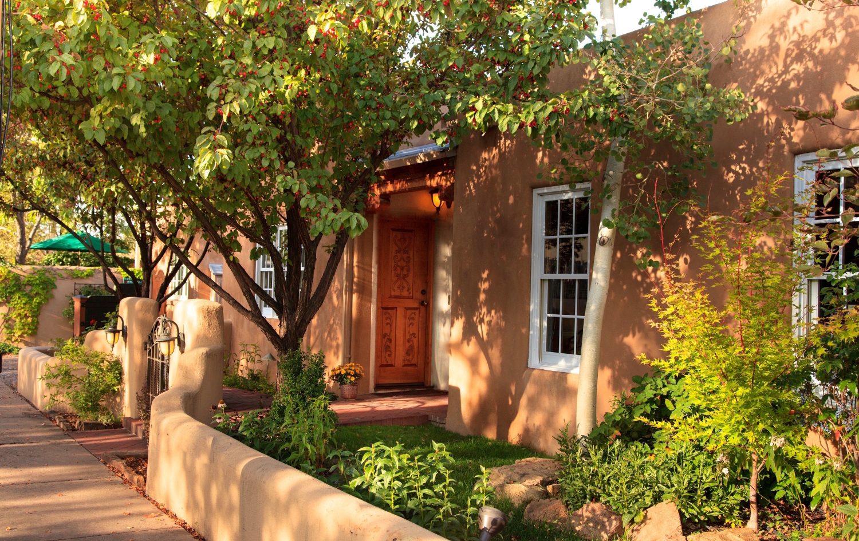 el farolito exterior beautiful adobe architecture