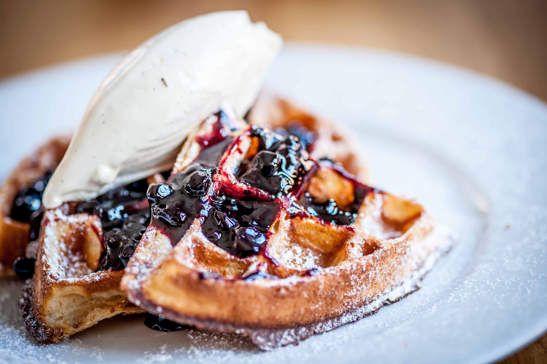 Chateau-bourbon-blueberry-waffles