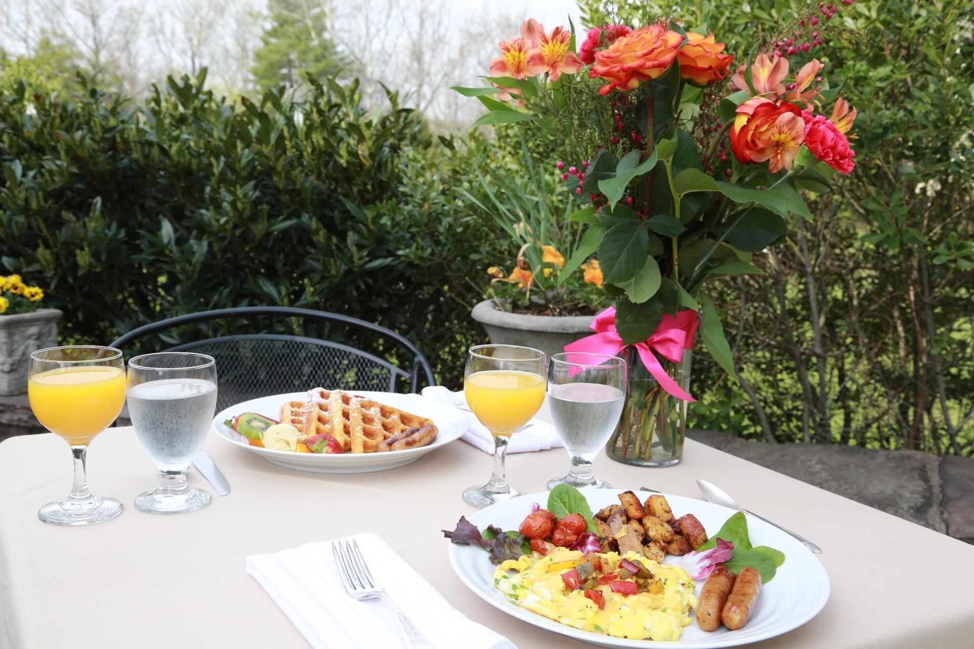 Breakfast on the Patio