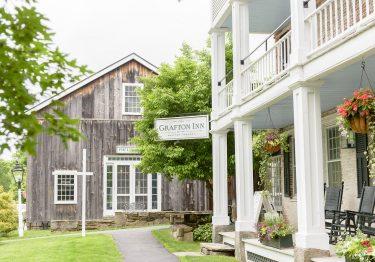 Grafton Inn exterior beautiful green property