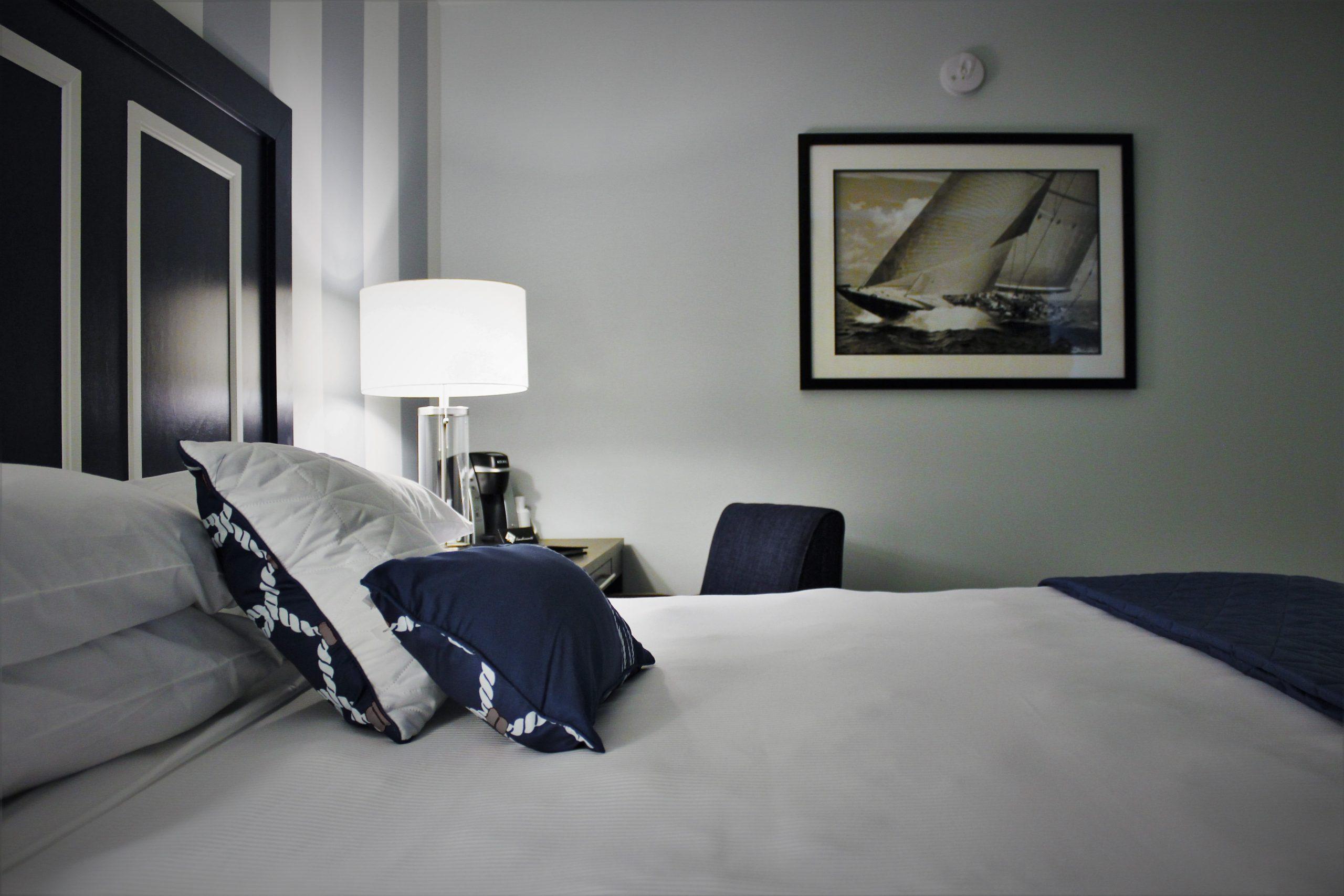 Bed closeup left - Virginia whetstone