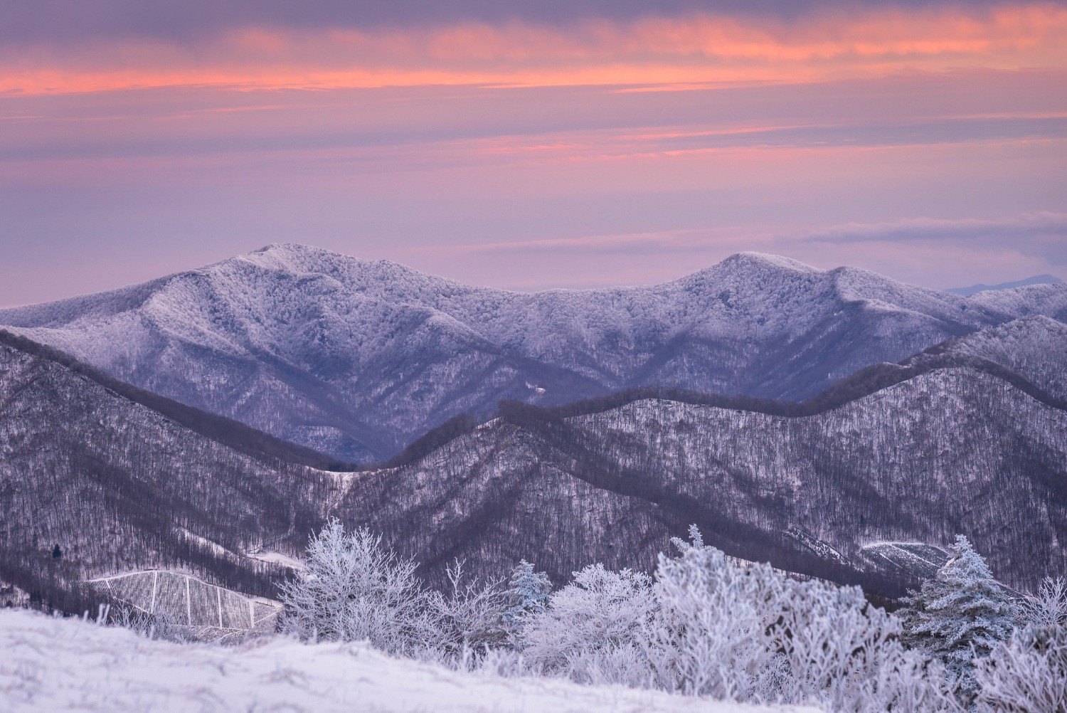 appalachian mountains winter