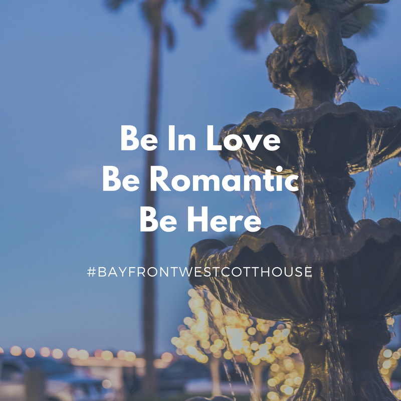Be in love Be romantic Be here