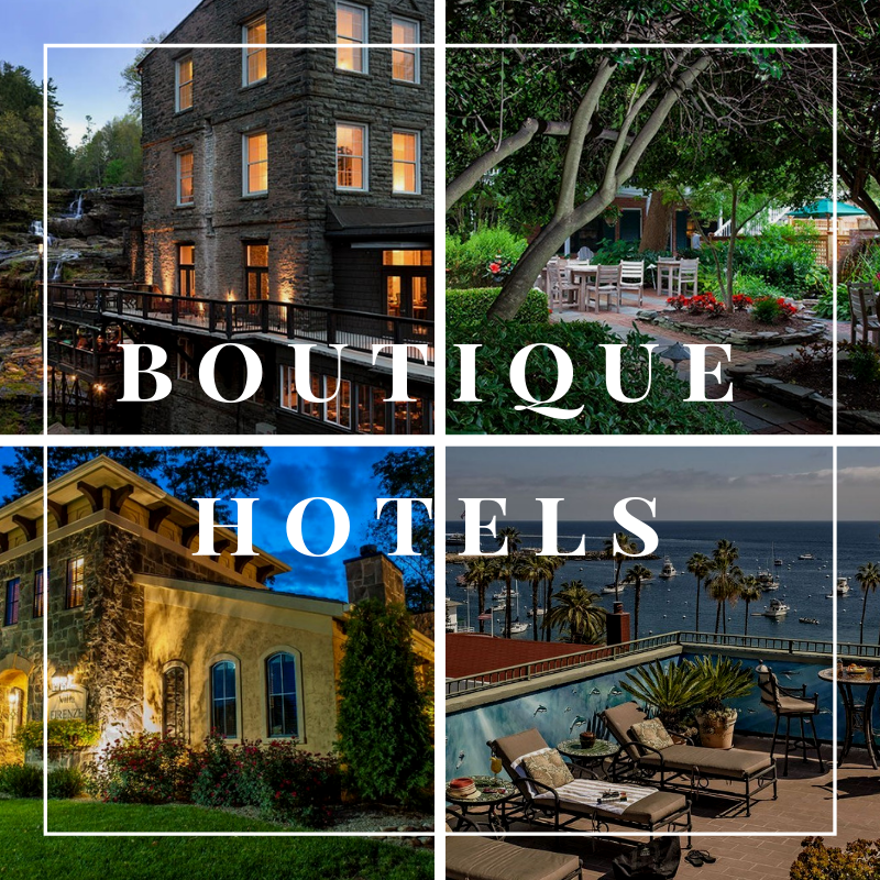 select registry unique boutique hotel properties