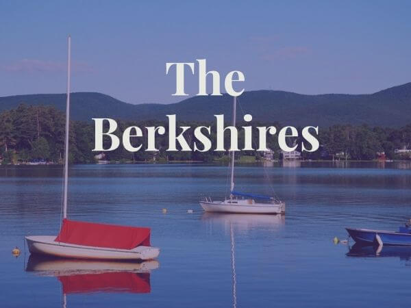 sailboats in lake in the berkshires