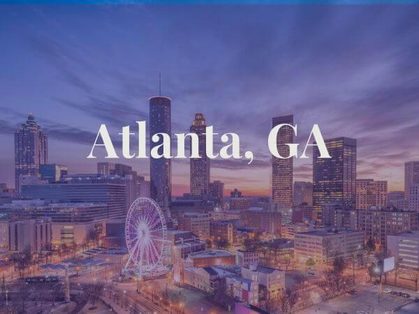 View of Atlamta, GA