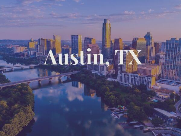 View of Austin, TX