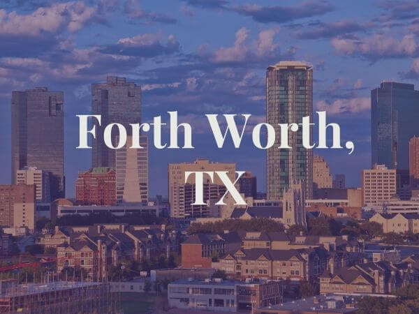 View of Forth Worth, TX