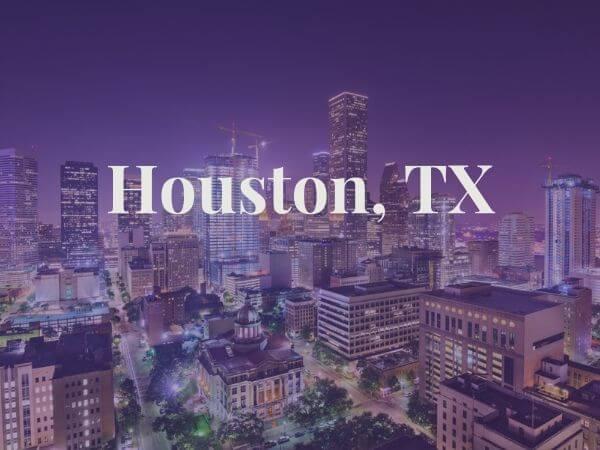 View of Houston, TX