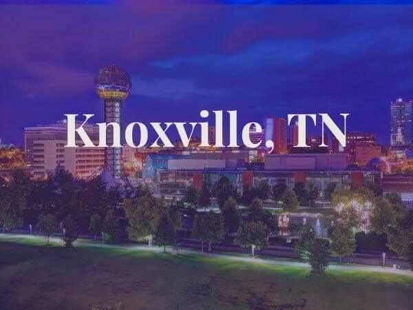 View of Knoxville, TN