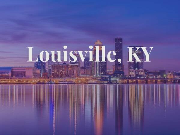 View of Louisville, KY