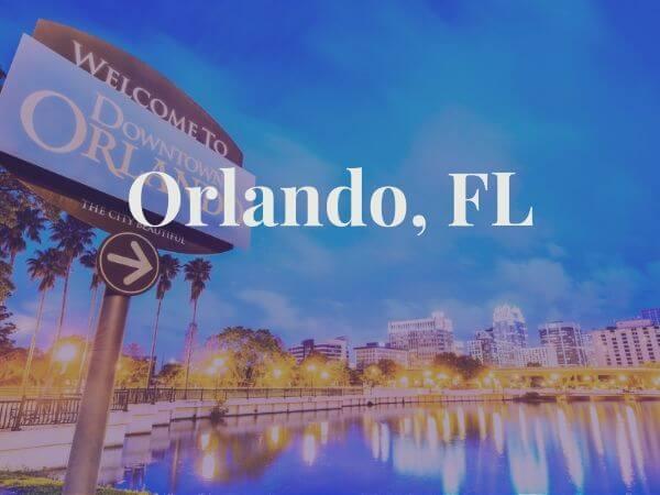 View of Orlando, FL