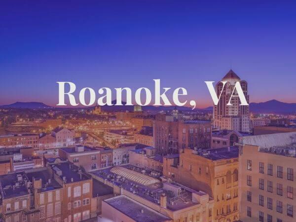 View of Roanoke, VA