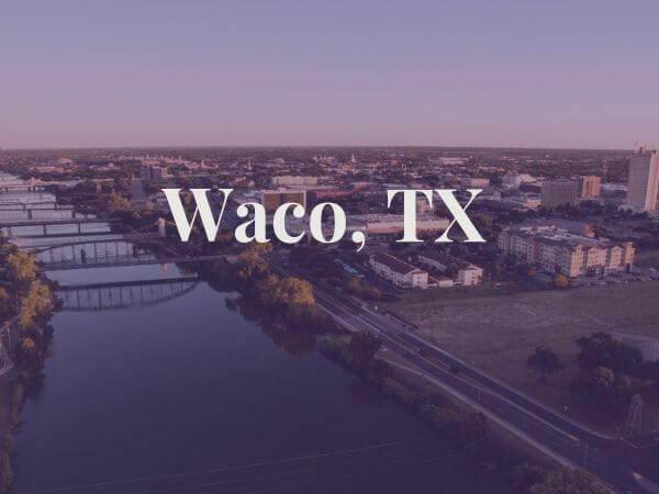View of Waco, TX