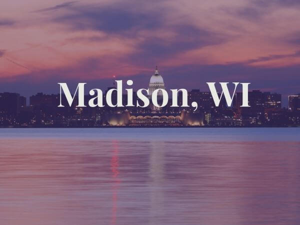 View of Madison, WI