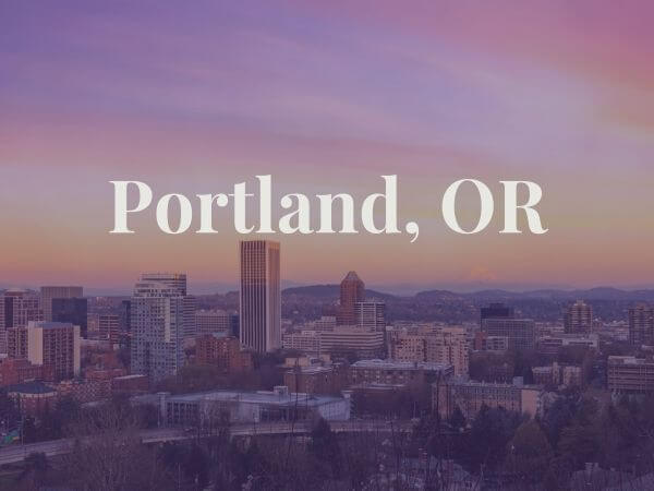 View of Portland, OR