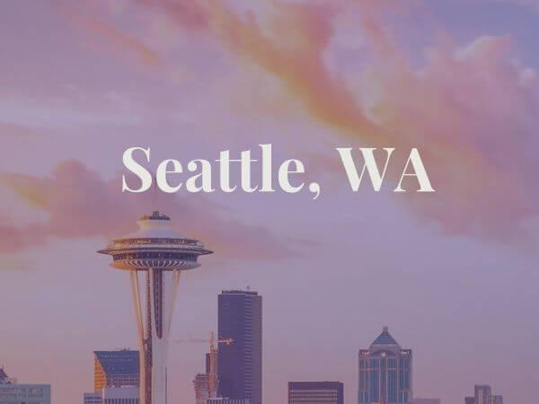 View of Seattle, WA