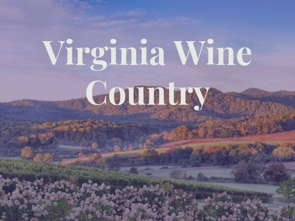 View of Virginia Wine Country land