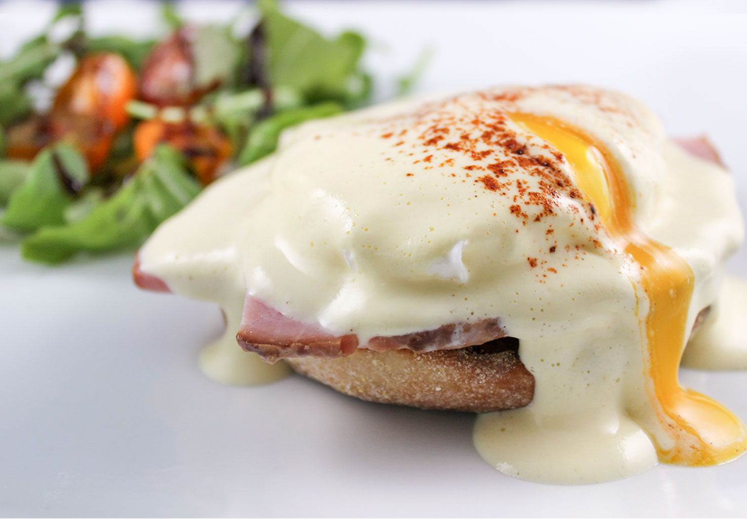 Eggs Benedict at 1802 House
