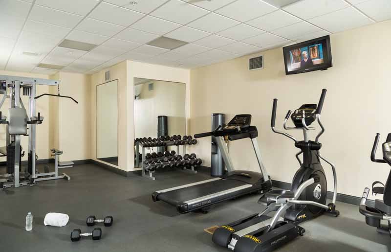 Onsite Workout Room - Hotel Anthracite