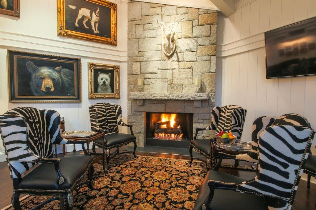 Lobby Fireplace - John Woods