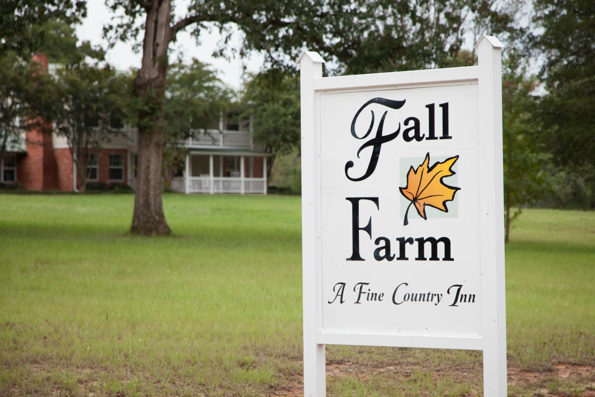 Entrance to Fall Farm