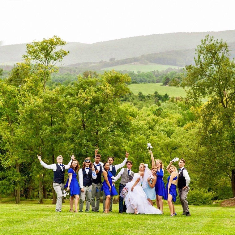 HVBNB-Weddingparty-760 - Hidden View Bed & Breakfast