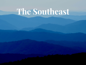 Blue Ridge Mountains in the Southeast