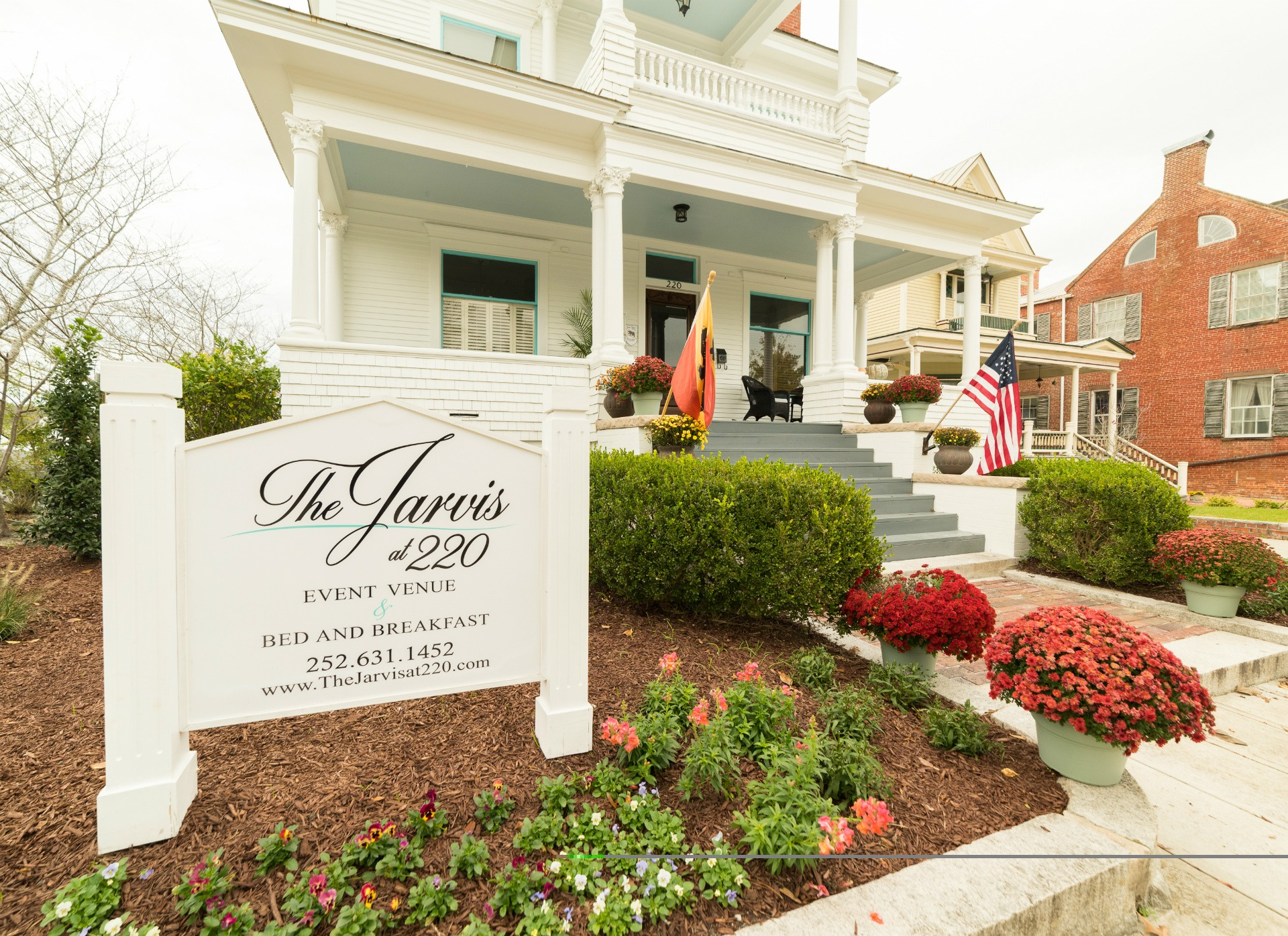 The Jarvis at 220 Event Venue & Bed and Breakfast